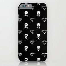 Skulls & Diamonds Slim Case iPhone 6