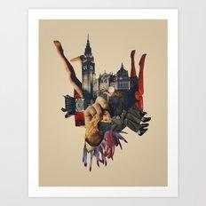 Backhand Art Print