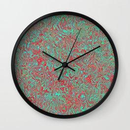 Seasonal Colors Wall Clock
