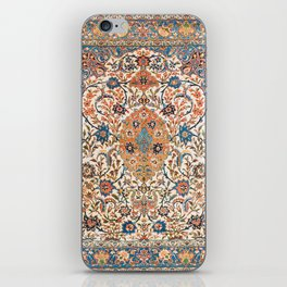 Isfahan Antique Central Persian Carpet Print iPhone Skin