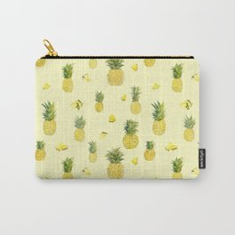 Pineapple Watercolors Carry-All Pouch