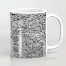Build the wall rock stone wall texture medieval vintage with gray black charcoal grey stone pattern Coffee Mug