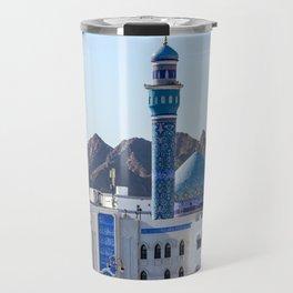 Muttrah Mosque - Muscat, Oman Travel Mug