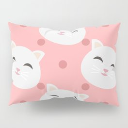Cats pattern background Pillow Sham