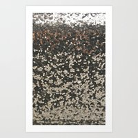 sparkles Art Prints featuring SPARKLES by Madison