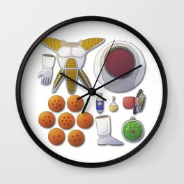 Alien Adventure Wall Clock