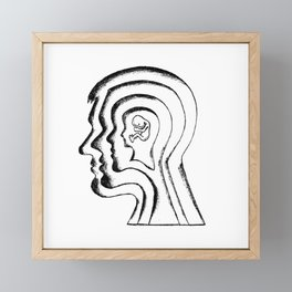 Aging / Identity Framed Mini Art Print