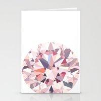 diamond Stationery Cards featuring diamond by Kazuma Shimizu