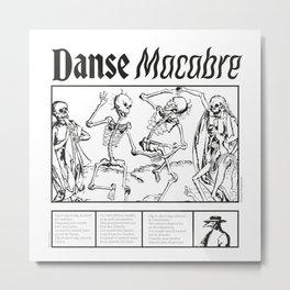Pandemic Dance Metal Print
