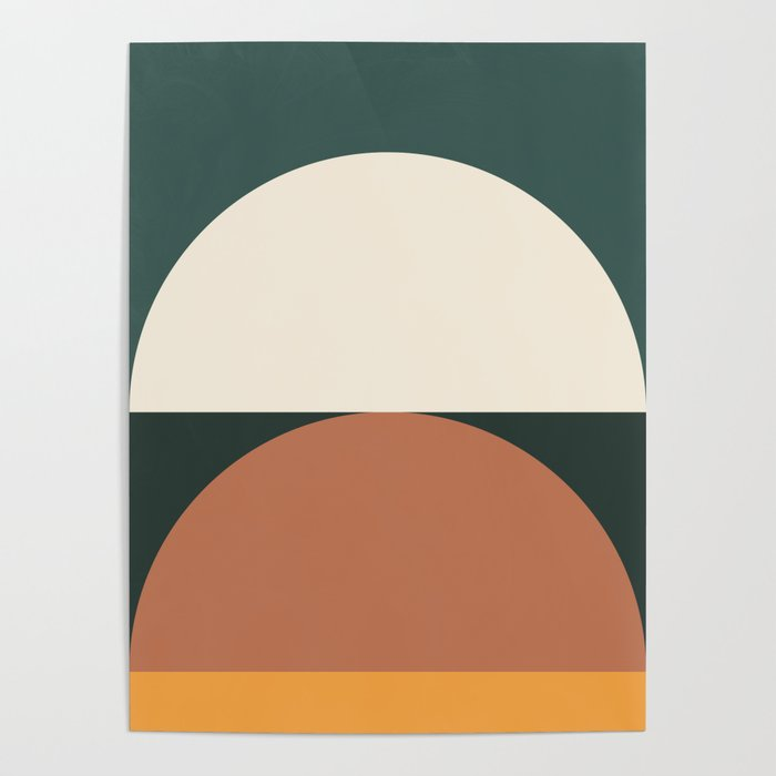 Abstract Geometric 01E Poster
