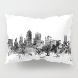 Kansas City Skyline Pillow Sham