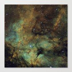 Gamma Cygni Nebula Canvas Print