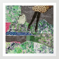 garden of sparkles Art Print