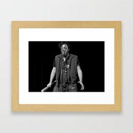 Flux Capacitor: Future Brock Framed Art Print