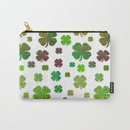 Lucky Charms - Four Leaf Clover Carry-All Pouch
