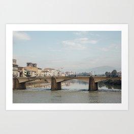 Arno Florence Italy Art Print