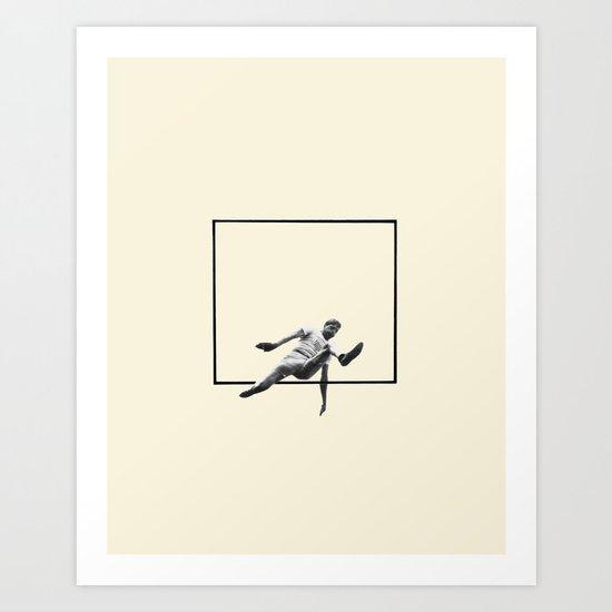 Hurdle (Rectangle) Art Print