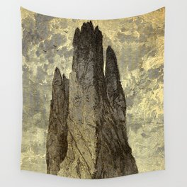 "Cathedral Rock, ""Garden of the Gods,"" Colorado, Red Trussic Sandstones Wall Tapestry"