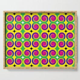 Swirly Pattern 1 Serving Tray