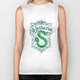 Slytherin Crest Biker Tank