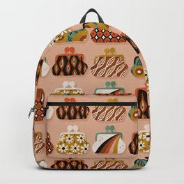 Vintage Coin Purse Collection – Coral Backpack