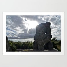 With the Sun at Our Backs Art Print