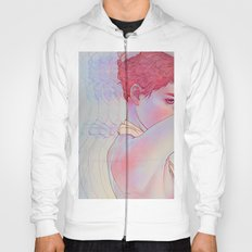 Untitled psychedelic girl drawing Hoody