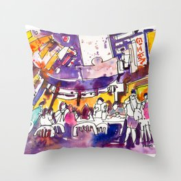 20170309b Chinatown Smith Street USKSG Throw Pillow