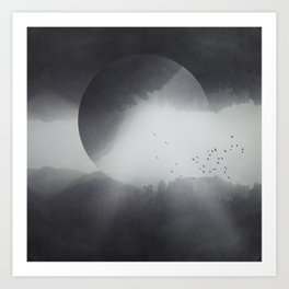 Spaces VIII - Singularity Art Print