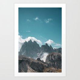 Dolomites Poster Portrait, Italy, Printable Photography, Nature, Landscape, Print, Wall Art Art Print