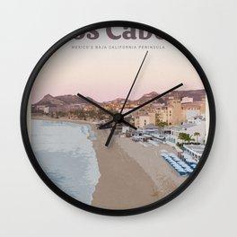 Visit Los Cabos Wall Clock