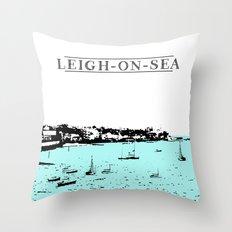 LEIGH-ON-SEA Throw Pillow