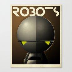 Robots - Marvin Canvas Print