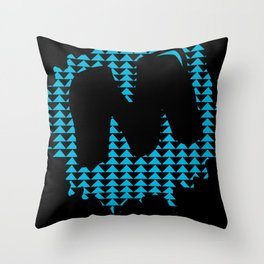 Moulded, but Alternative Throw Pillow