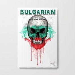To The Core Collection: Bulgaria Metal Print
