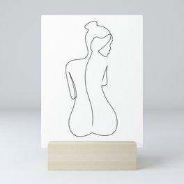 Back Line Mini Art Print