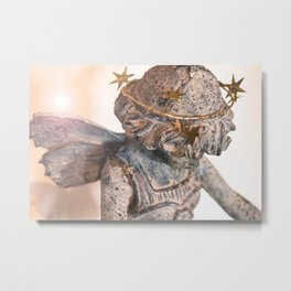 Dreamland Faerie (Lens Flair) Metal Print