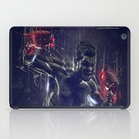 boxing iPad Cases featuring DARK BOXING by Ptitecao