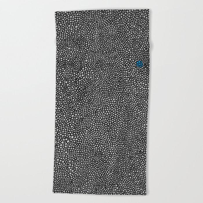 - cosmos_07 - Beach Towel