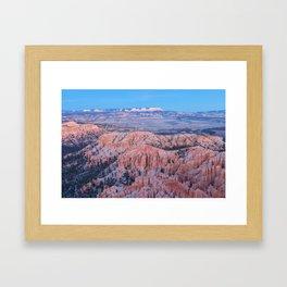 Bryce at Dusk Framed Art Print