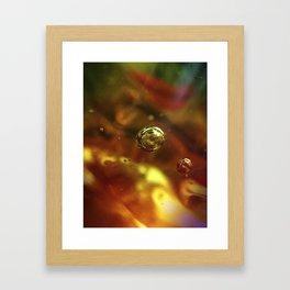 Glass Up Close Framed Art Print