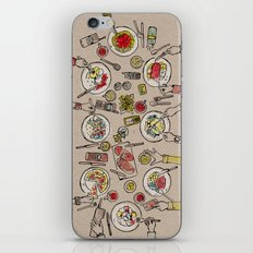 Generations Dinner iPhone & iPod Skin