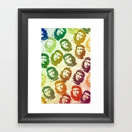 Rainbow Revolution Framed Art Print