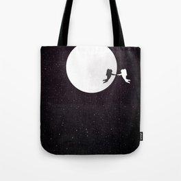 Moon alternative movie poster Tote Bag