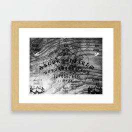 Modern Ouija Framed Art Print