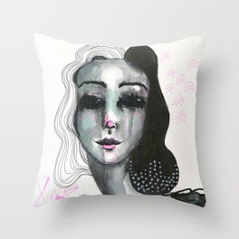 Cruella Throw Pillow