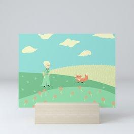 The Little Prince Mini Art Print