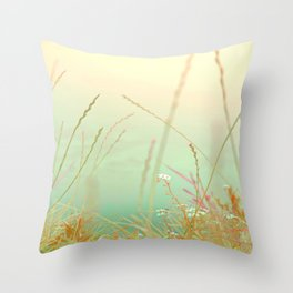 softly silance nature Throw Pillow
