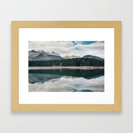 Winter's First Breath Framed Art Print