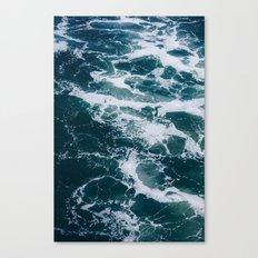 Ocean Marble #texture Canvas Print